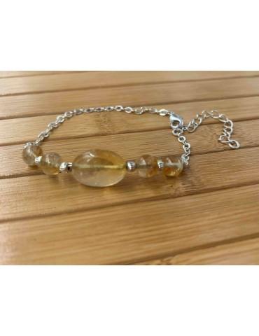 Bracelet Citrine Argent 925...